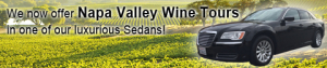 Napa Valley wine tours from the East Bay Area